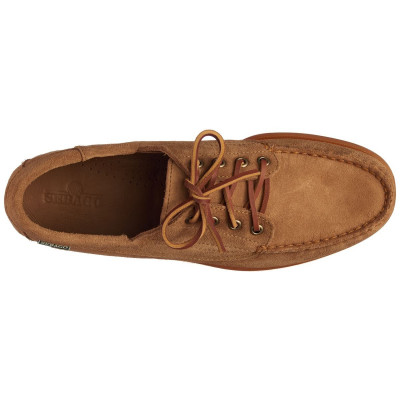 ASKOOK SUEDE BROWN COGNAC