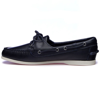 DOCKSIDES JACQUELINE WAXY Blue Navy