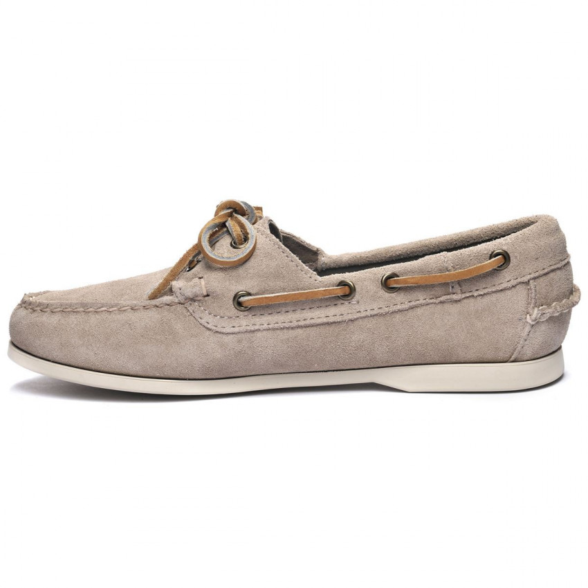 DOCKSIDES JACQUELINE SUEDE Brown Taupe