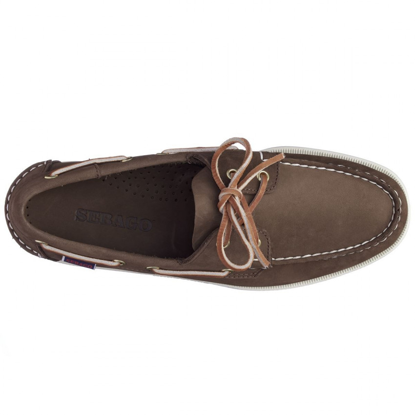 DOCKSIDE NUBUCK MARRON